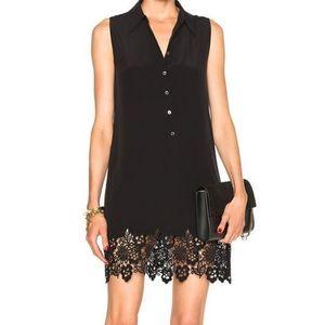 Equipment Black Silk Lucinda Dress
